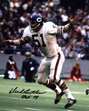 Dick Butkus Chicago Bears -Arms Up- with HOF 79  Autographed Photo (Hand Signed Collectable)