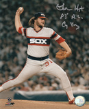 Lamarr Hoyt Chicago White Sox with 83 AL CY Inscription
