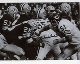 Dick Butkus Chicago Bears - vs Packers Autographed Photo (Hand Signed Collectable)