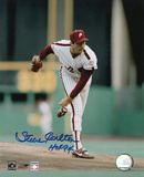 Steve Carlton Philadelphia Phillies with HOF '94 Inscription