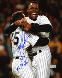 "Dwight ""Doc"" Gooden New York Mets w/ NH 5/14/96 Autographed Photo (Hand Signed Collectable)"