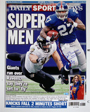 "Brandon Jacobs Daily News ""Super Men"" Cover Re-Print"