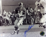 YA Tittle New York Giants Autographed Photo (Hand Signed Collectable)