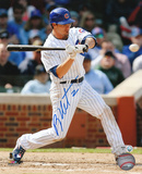 Ryan Theriot Chicago Cubs -Swinging Autographed Photo (Hand Signed Collectable)