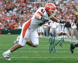 J Leman Illinois Fighting Illini - Action Autographed Photo (Hand Signed Collectable)