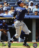 Evan Longoria Tampa Bay Rays Autographed Photo (Hand Signed Collectable)