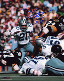 Mel Renfro Dallas Cowboys - Action with HOF 96  Autographed Photo (Hand Signed Collectable)