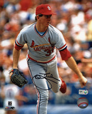 John Tudor St Louis Cardinals Autographed Photo (Hand Signed Collectable)