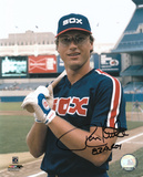 Ron Kittle Chicago White Sox with 83 AL ROY Inscription Autographed Photo (Hand Signed Collectable)
