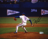 "Dwight ""Doc"" Gooden New York Mets - Pitching Autographed Photo (Hand Signed Collectable)"