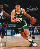 Kevin McHale Boston Celtics - Dribbling Action Autographed Photo (Hand Signed Collectable)