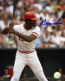George Foster Cincinnati Reds - Action
