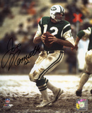 Joe Namath New York Jets - Drop Back Autographed Photo (Hand Signed Collectable)