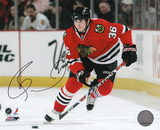 Dave Bolland Chicago Blackhawks Autographed Photo (Hand Signed Collectable)