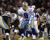 Tony Romo Dallas Cowboys - Under Center Autographed Photo (Hand Signed Collectable)