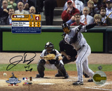 Jermaine Dye Chicago White Sox 2005 World Series Game 4 with &#39;&#39;WS MVP&#39;&#39; Inscription