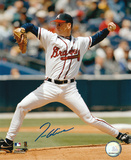 Tom Glavine Atlanta Braves - Action Autographed Photo (Hand Signed Collectable)