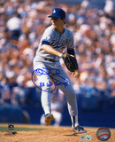John Tudor Los Angeles Dodgers with 88 WS Champs  Autographed Photo (Hand Signed Collectable)