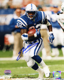 Edgerrin James Indianapolis Colts - Running Autographed Photo (Hand Signed Collectable)