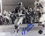 YA Tittle New York Giants with HOF 71 Inscription Autographed Photo (Hand Signed Collectable)