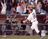 Jim Thome Chicago White Sox 500th Home Run 9/16/07 Autographed Photo (Hand Signed Collectable)