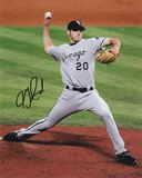 Jon Garland Chicago White Sox - 2005 World Series Autographed Photo (Hand Signed Collectable)