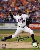 Orlando Hernandez New York Mets Autographed Photo (Hand Signed Collectable)