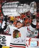 Marian Hossa 2010 Stanley Cup Chicago Blackhawks Autographed Photo (Hand Signed Collectable)