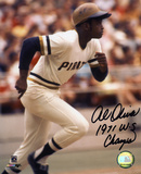Al Oliver Pittsburg Pirates with 71 WS Champ  Autographed Photo (Hand Signed Collectable)