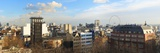 Panoramic View Over Leicester Square and London Skyline  London  England  United Kingdom  Europe