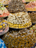 Sweets For Sale in the Souk of Meknes  Morocco  North Africa  Africa