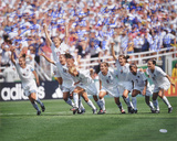 1999 USA Women's Soccer - Celebration - Team Signed Autographed Photo (Hand Signed Collectable)