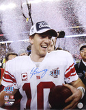 Eli Manning New York Giants - Super Bowl Confetti Autographed Photo (Hand Signed Collectable)