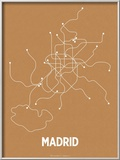 Madrid (Orange &amp; Pearl White)
