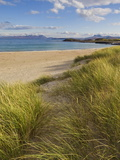 Sand Dunes and Dune Grasses of Mellon Udrigle Beach  Wester Ross  North West Scotland