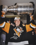 Mario Lemieux PittsburgPenguins -Stanley Cup- Autographed Photo (Hand Signed Collectable)