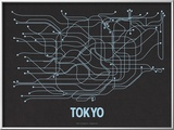 Tokyo (Black Licorice &amp; Light Blue)