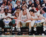 Larry Bird  Robert Parish  Kevin McHale Boston Celtics Autographed Photo (Hand Signed Collectable)