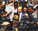 Villanova Wildcats - 1985 Championship Parade Celebration - Team  with 12 Signatures