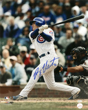 Ryan Theriot Chicago Cubs - Swinging Autographed Photo (Hand Signed Collectable)