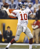 "Eli Manning New York Giants SB XLVI with ""2X SB MVP"" Autographed Photo (H& Signed Collectable)"