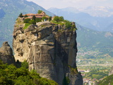 Monastery of the Holy Trinity (Agia Triada)  Meteora  UNESCO World Heritage Site  Greece  Europe