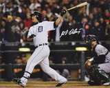 Magglio Ordonez Detroit Tigers - ALCS Walk-Off Home Run Autographed Photo (Hand Signed Collectable)