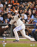 Buster Posey San Francisco Giants  with 2010 WS Champs Inscription