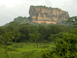 Sigiriya (Lion Rock)  UNESCO World Heritage Site  Central Sri Lanka  Asia