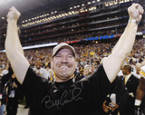 Bill Cowher Pittsburgh Steelers - Hands In Air Horizontal