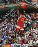 Dominique Wilkins Atlanta Hawks Autographed Photo (Hand Signed Collectable)