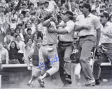 George Brett Kansas City Royals - Pine Tar Autographed Photo (Hand Signed Collectable)