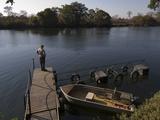 Lunga River Lodge  Kafue National Park  Zambia  Africa