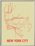 New York City (Cement Green &amp; Orange)